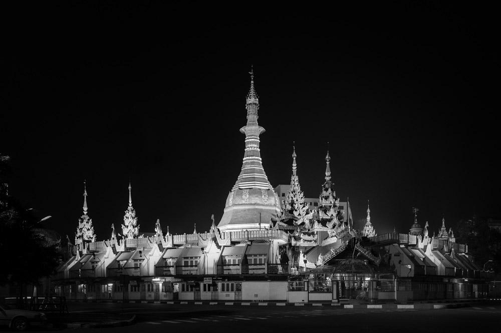 Sula Pagoda yangon Myanmar