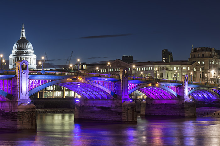 St Pauls Cathedral and Southwark Bridge