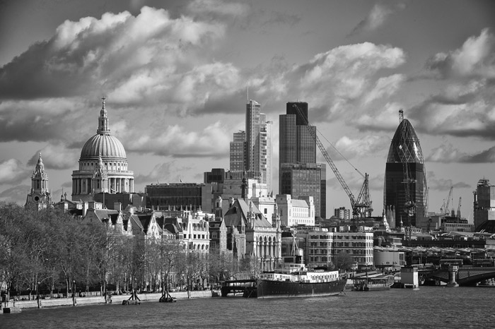 London Cityscapes – The City of London Financial District
