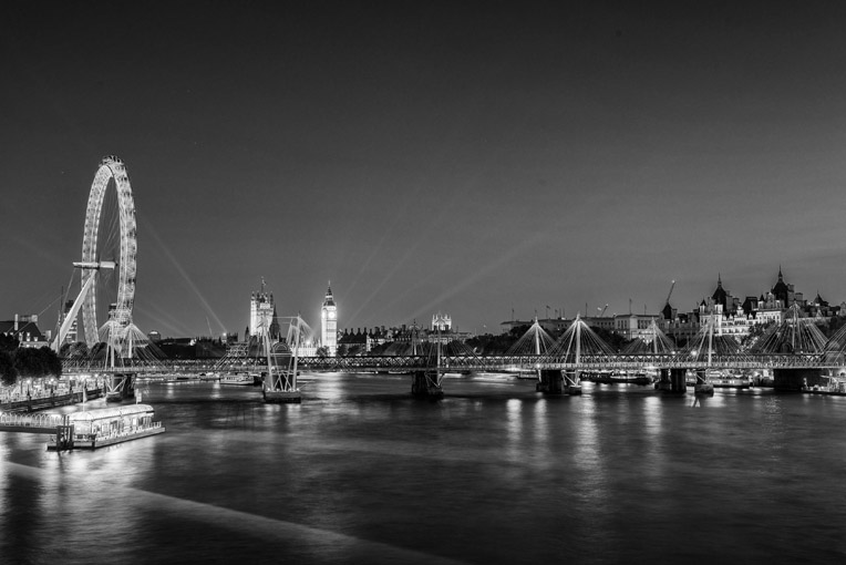 London Cityscapes – The London Skyline at Westminster