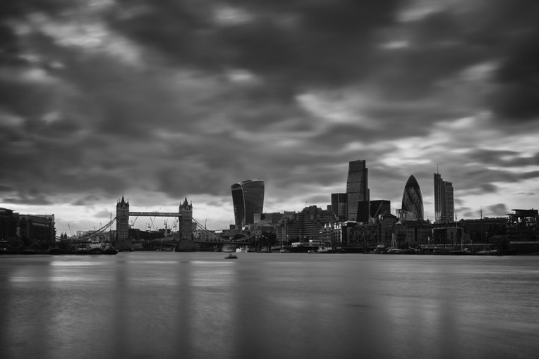 London Cityscapes – The City of London from the South of the River Thames