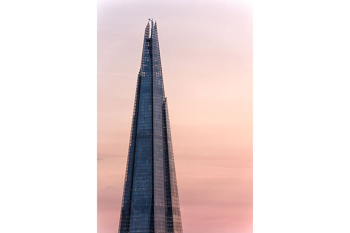 London Skyline: The Shard at Dusk