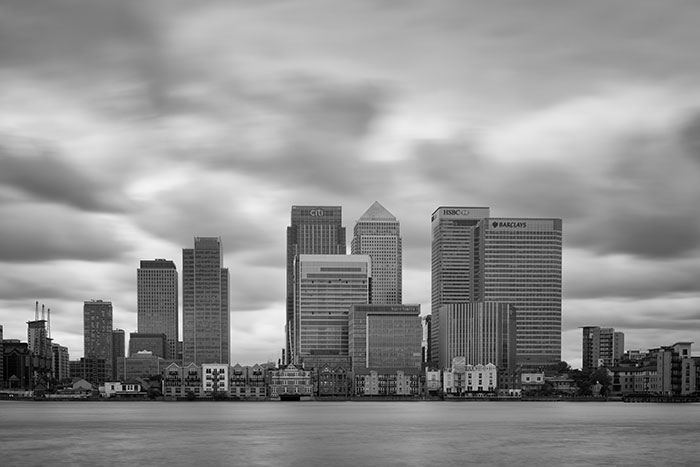London Skyline – Canary Wharf