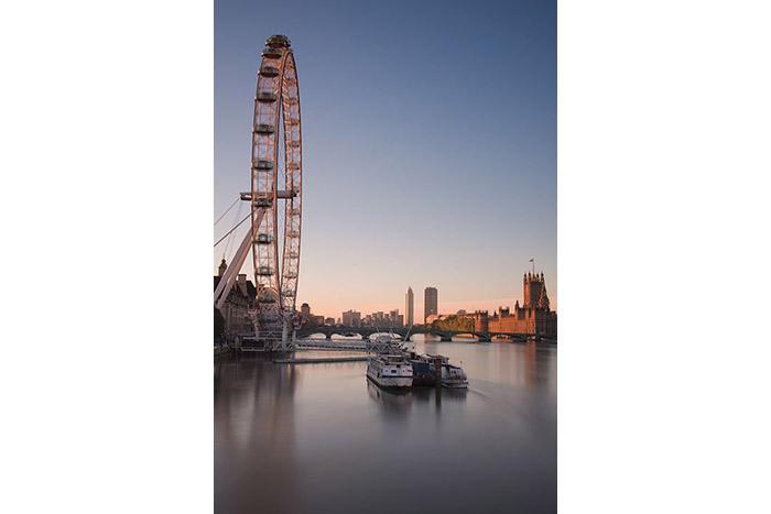 London Skyline – The London Eye