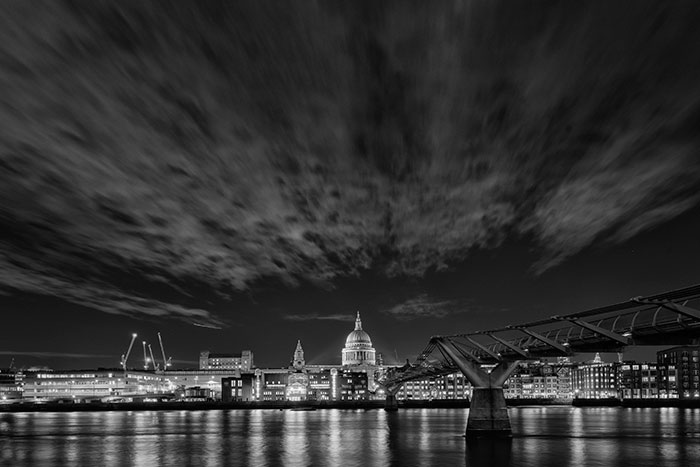 St Pauls Cathedral and the City Skyline