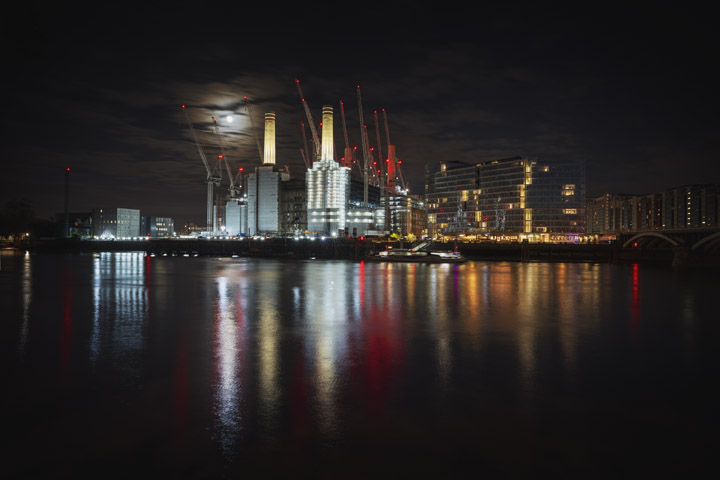 Battersea Power Station Moon 2019