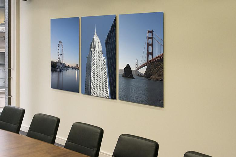 Boardroom art – International triptych