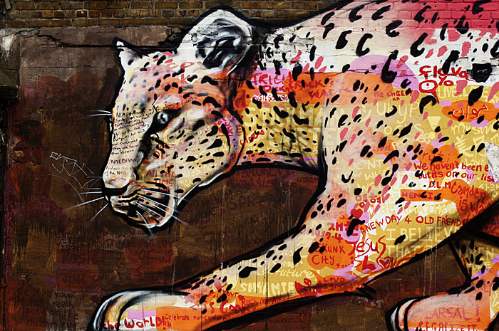 Panther Mural, Camden Town, London