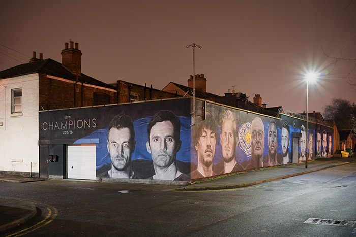 Local Heroes Leicester City Mural