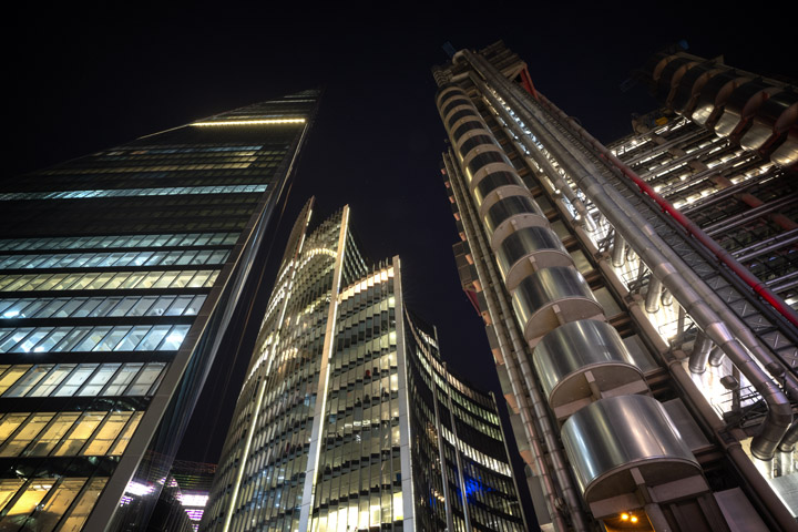 Scalpel Willis Building and Lloyds Building 2018
