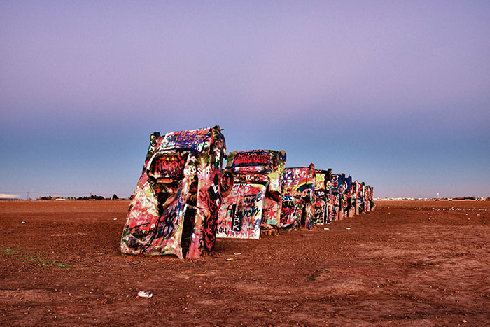 Route 66 Cadillac Ranch
