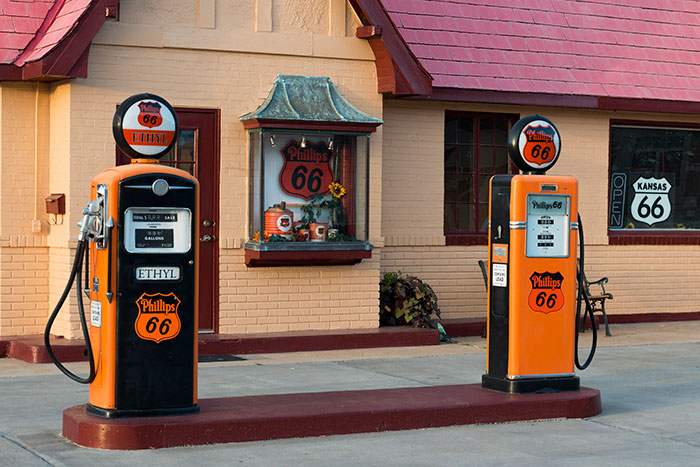 Route 66 Gas Station Baxter Springs