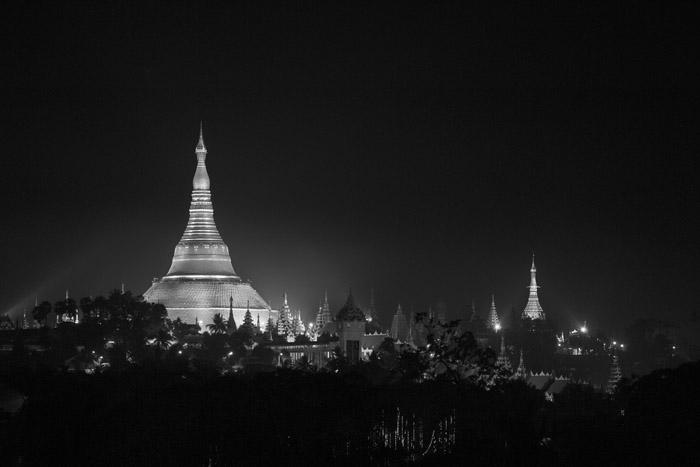Sacred places 10: Pagodas, Yangon, Burma