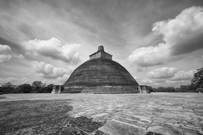 Sacred places 9: Jetavanaramaya Stupa, Anuradhapura, Sri Lanka
