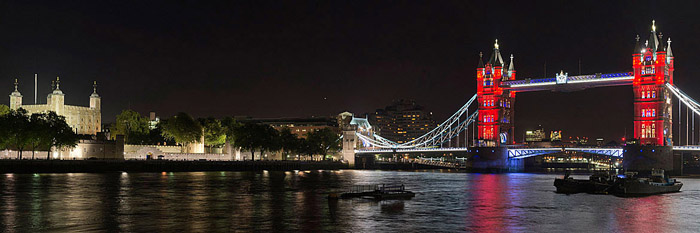 Panoramic Photographs of the London Skyline 5