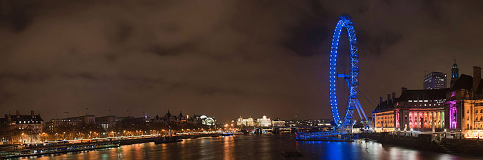 Panoramic Photographs of the London Skyline 3