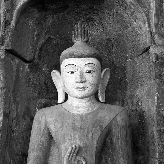 Buddha Statue in Mark U Myanmar