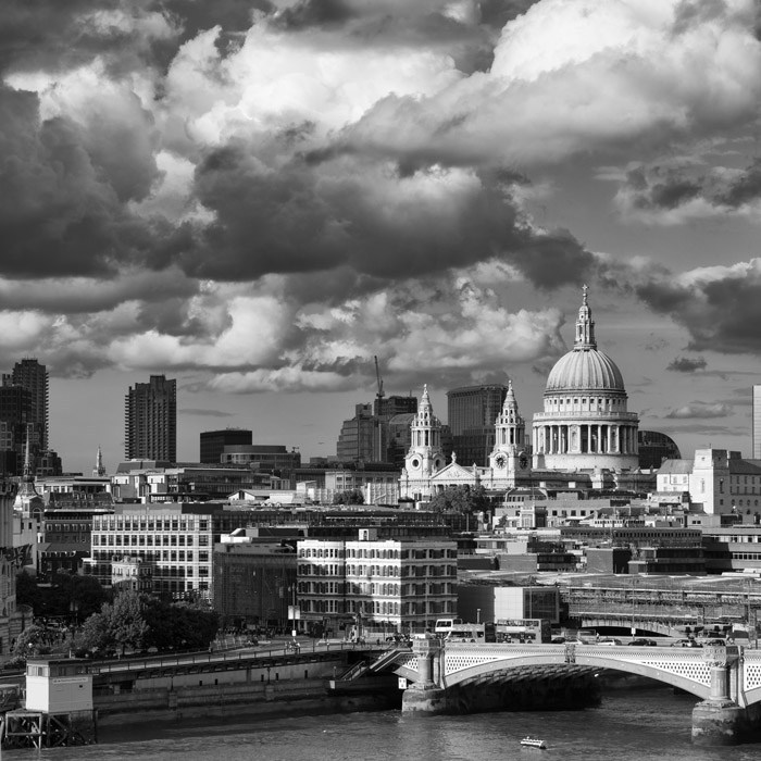 Dramatic London cityscapes by Martin Smith