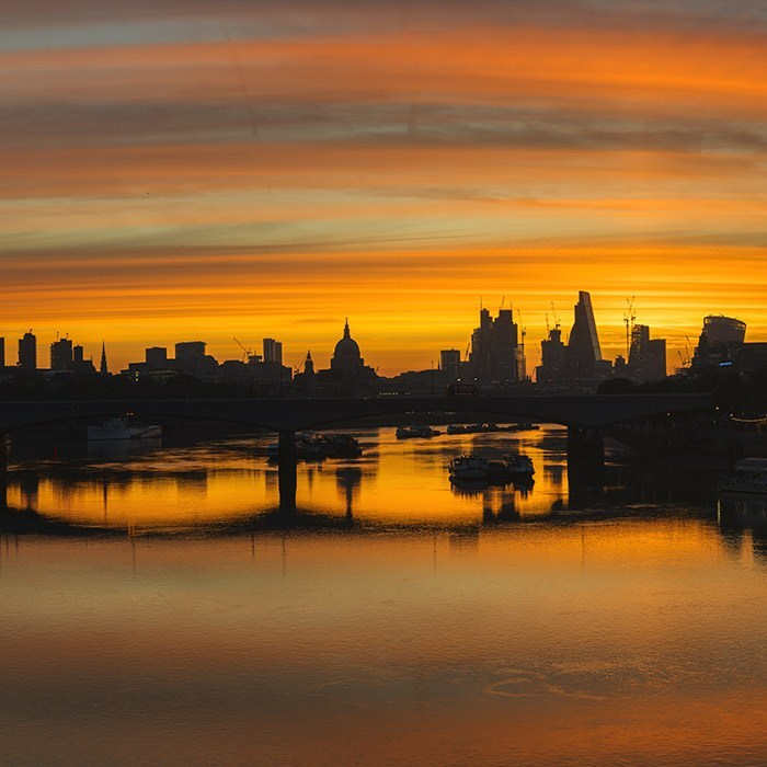 London sunrise photography by Martin Smith