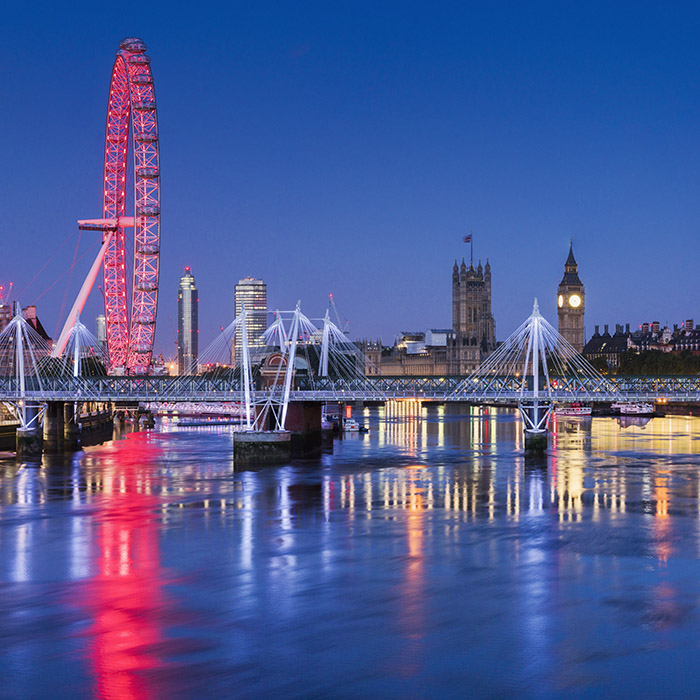 Panoramic photographs of London by Mr Smith