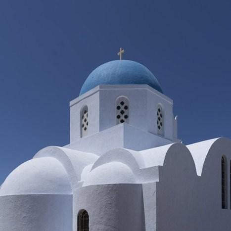Photograph of Santorini by Martin Smith