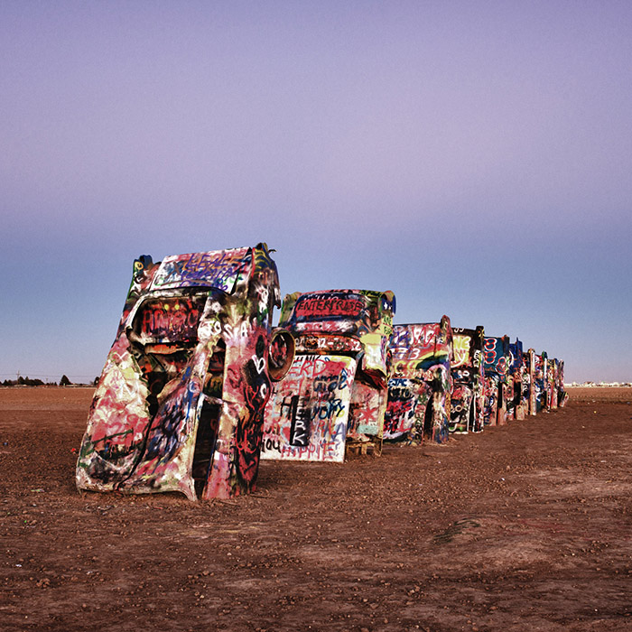 Route 66 Cadillac ranch Thumbnail