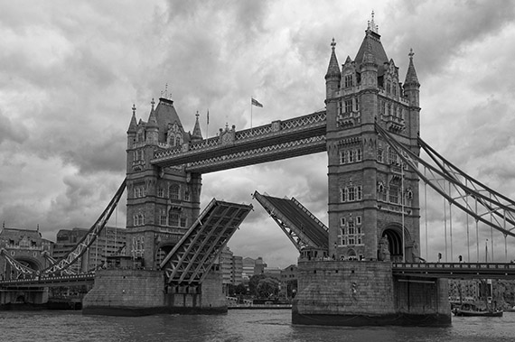 Tower bridge panoramas photographs