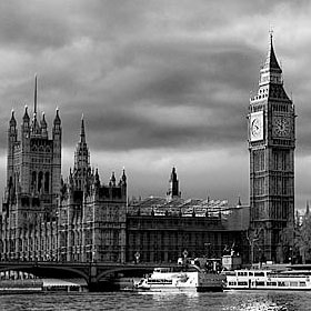Black White Photographs Of London