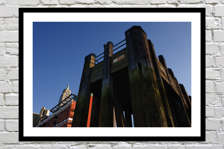 Anniversary git art print Oxo Tower