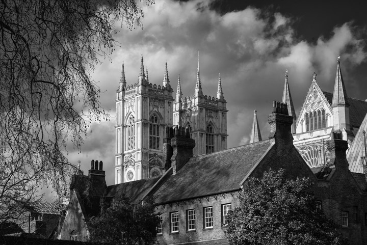 Black and White Photography Westminster Abbey