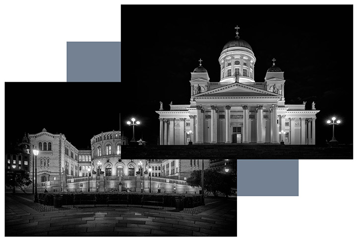 commissioned photography of European capital cities