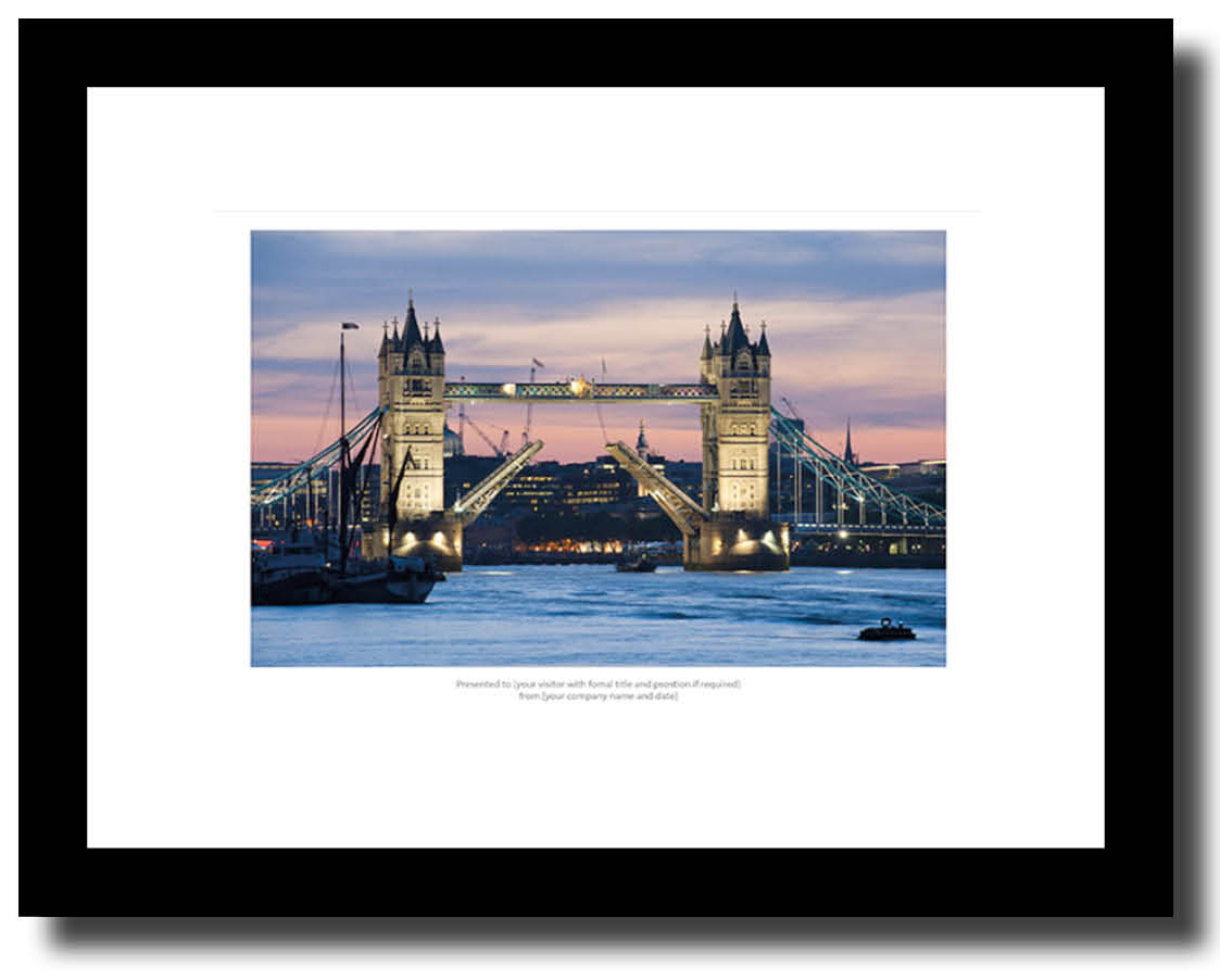 Corporatists Art Gift London Print  by Martin Smith