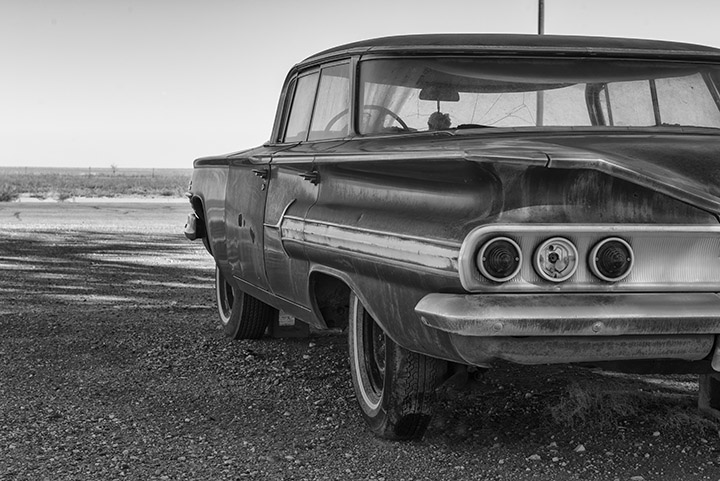 Fine art photograph of old chevrolet