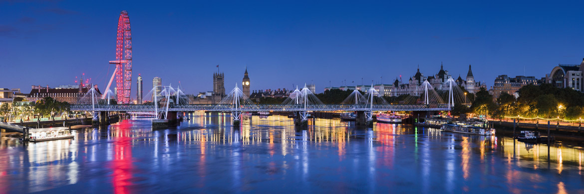 Giant Panoramic Print of London