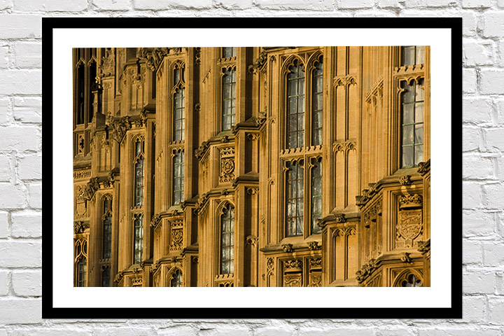 London Prints - Houses of Parliament