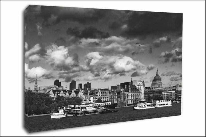 London Canvas Prints City Skyline
