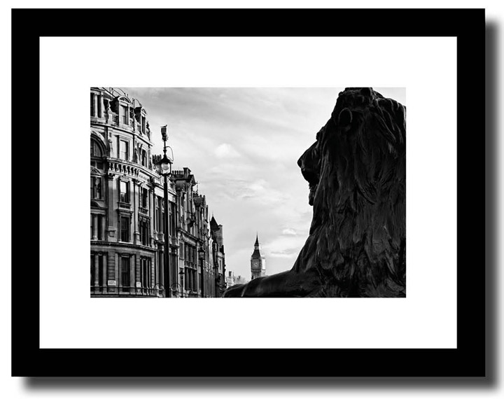 London Framed Prints Trafalgar Square