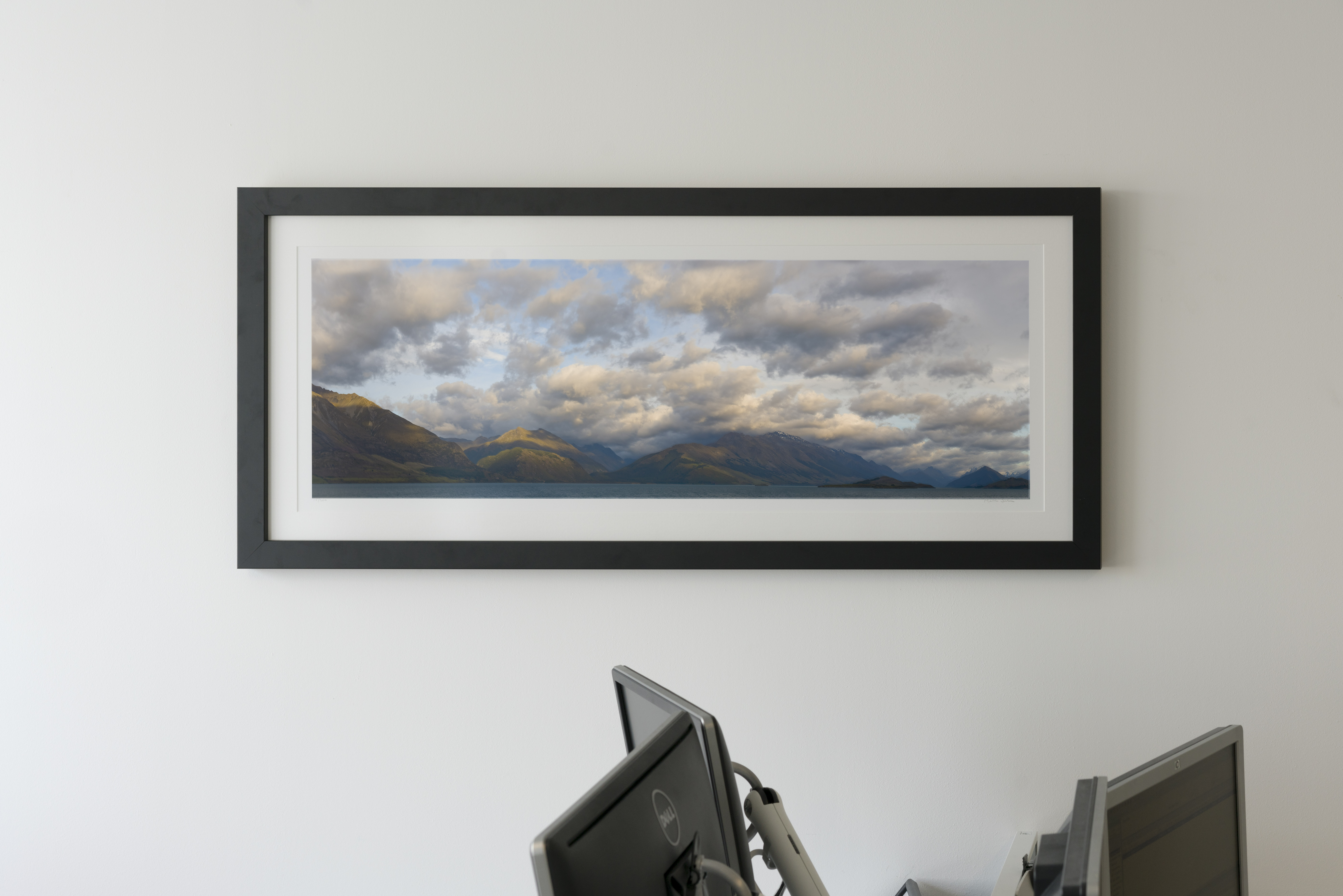 panoramic photograph in the offices of  Marathon Asset Management