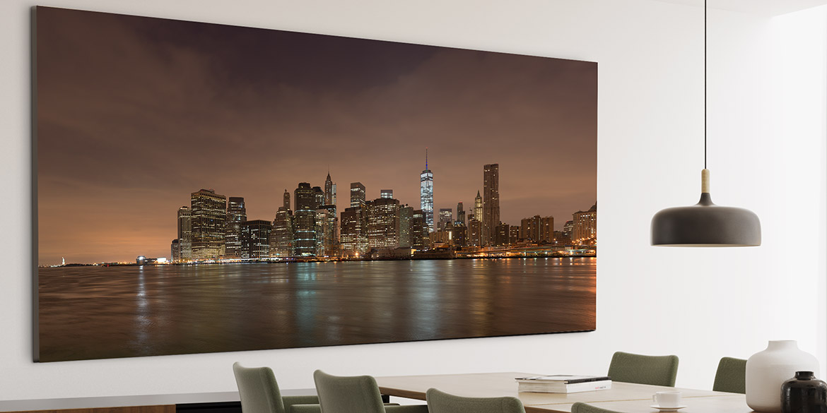 Custom artwork New York City Skyline,