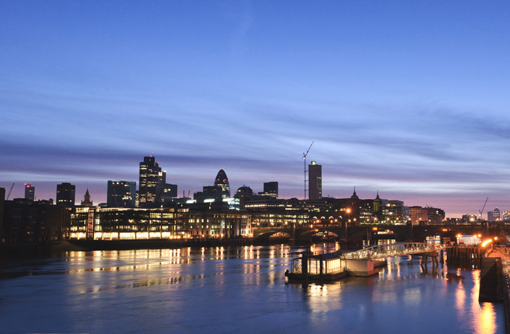 Photograph of City of LondonSkyline office art Allen and Overy