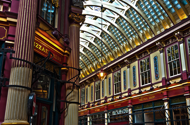 Photograph of Leadenhall Market office art Allen and Overy