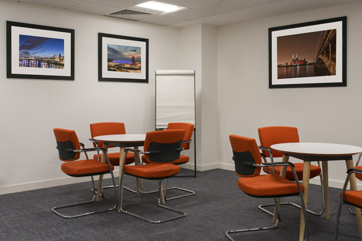 London panoramic photograph in the boardroom of the British Quality Foundation