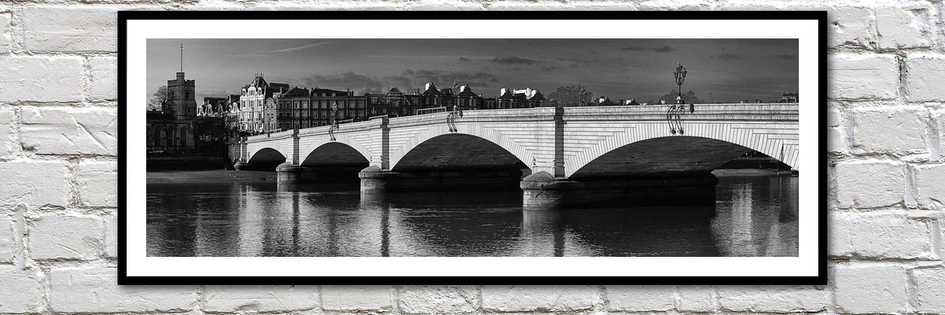 Office art ideas - prints of the bridges which cross the River Thames in London