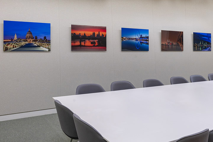 Artwork at Venner Shipley  by Mr Smith World Photography