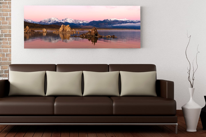 Art for the home landscape in modern apartment