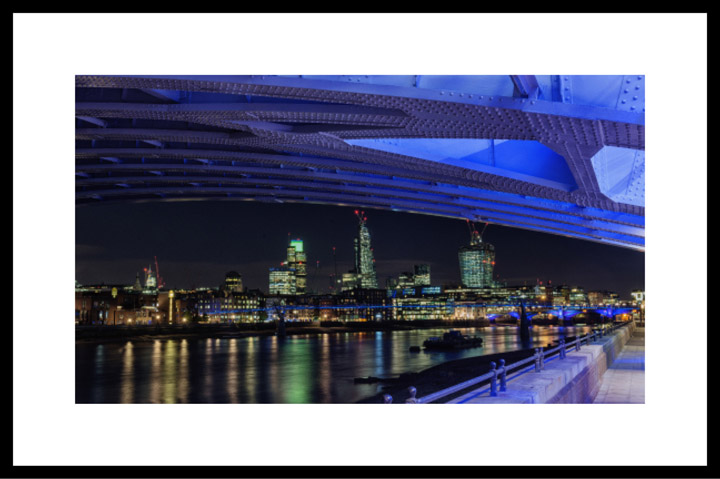 Framed Fine Art Prints of London skyline
