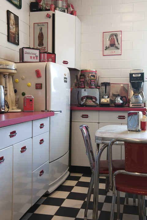 50s Kitchen -  Route 66 Illiinois