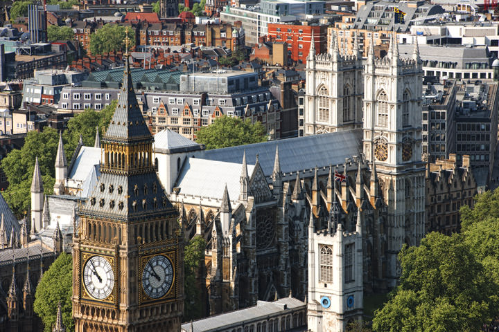 Photograph of Above Westminster