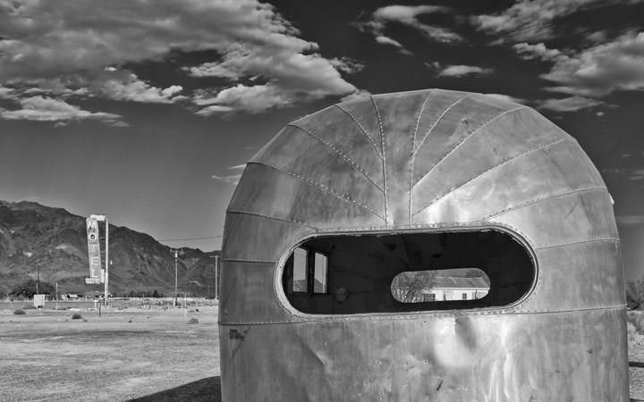Photograph of Airstream - Route 66
