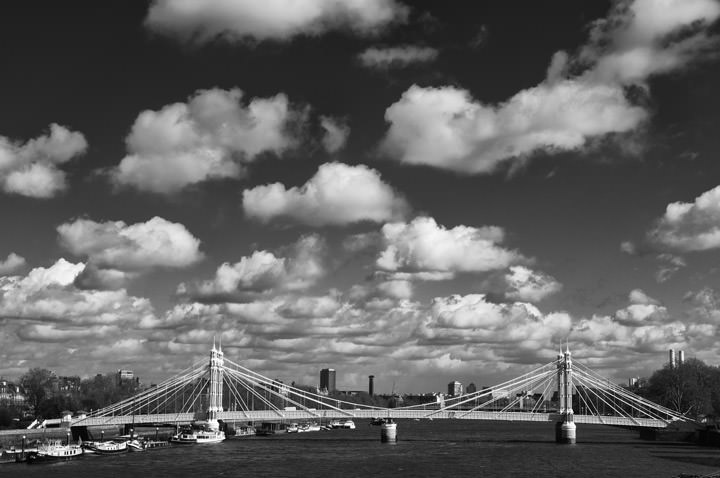 Photograph of Albert Bridge 1